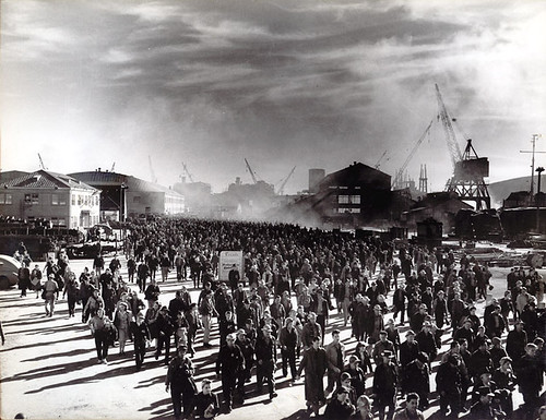 1944 Kaiser shipyard in Richmond, California: Home of the Liberty and Victory ships by Konabish ~ Greg Bishop