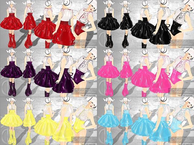 + eX + Lolita Latex All colors