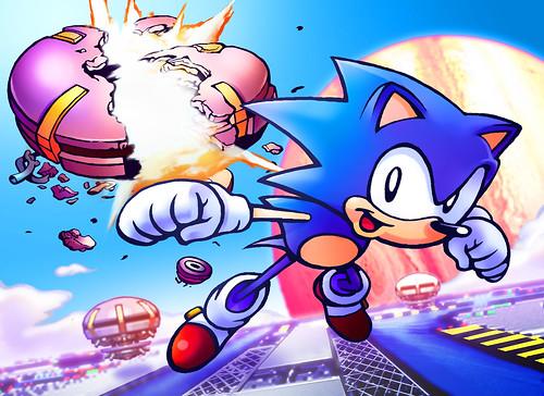 Sonic CD Fan Art Contest Winner - North America