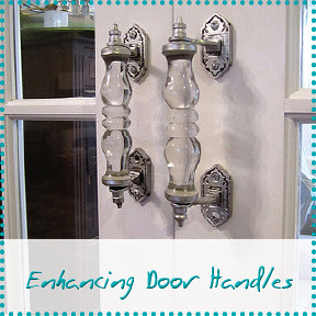 enhancing door handles