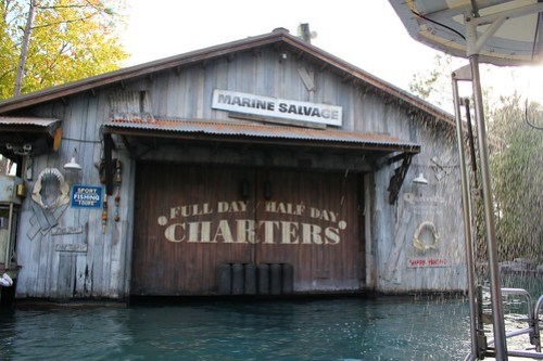 Jaws boat house