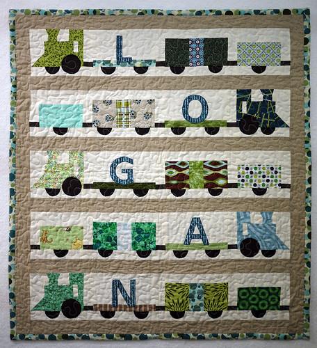 Logan's Train Quilt