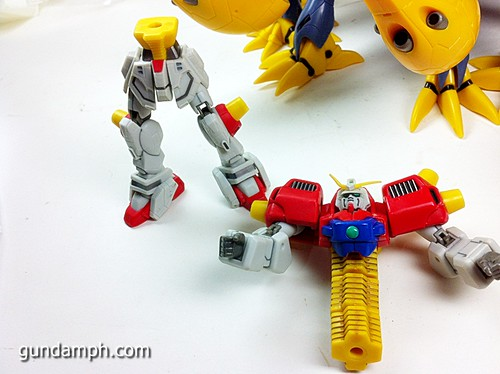 MSIA Devil Gundam First Form Unboxing Review Huge (54)