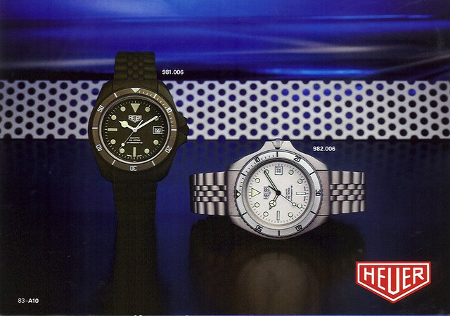 Heuer 982.006 in the 1983 Catalogue