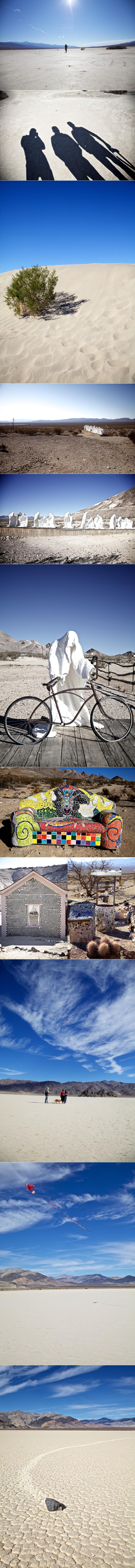 Death Valley collage