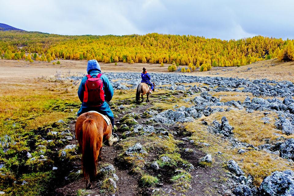 Horse trek in Mongolia IKILOMALLA matkablogi travel blog (14)