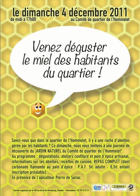Venez déguster du miel à roubaix !