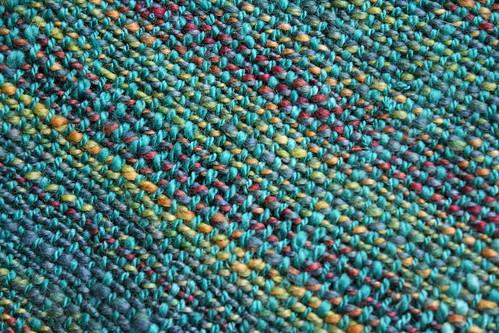weaving :: handspun child's scarf