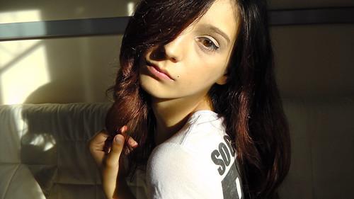 No I'm not Ariel, I'm Vanessa the psycho b'tch !