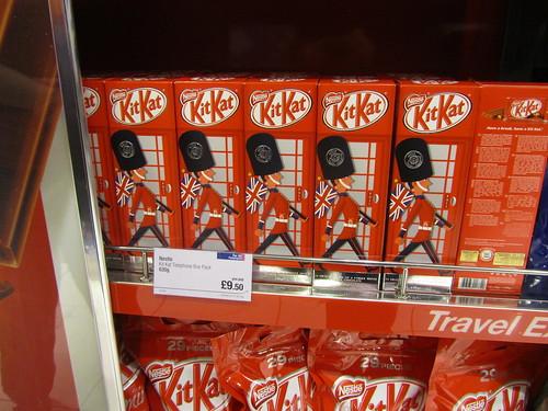 Kit Kats at Heathrow