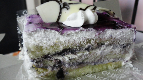 Blackcurrant cake