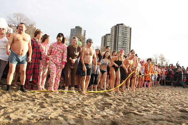 Vancouver Polar Bear Swim 2012  