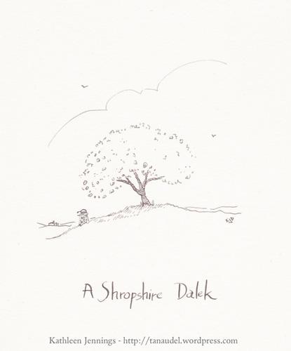A Shropshire Dalek