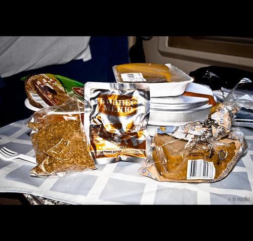 Comida Transiberiano a base de noodles