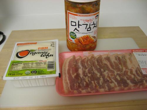 kimchi jjigae essentials