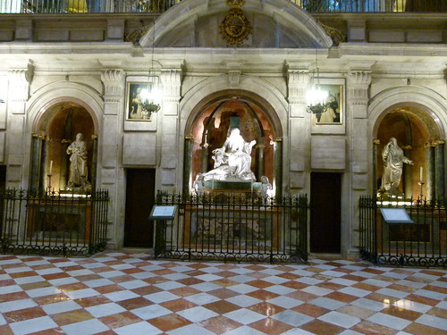 Trascoro Catedral de Málaga.