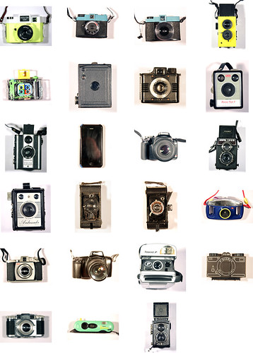 Camera collection (minus one) by Princess Bala Vera