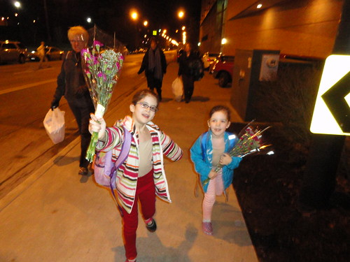 Flowers for the dancers