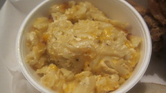 mac & cheese at curly's fried chicken