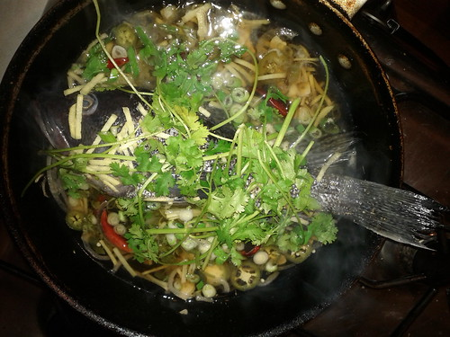 Fish steamed in nuoc mam by RR