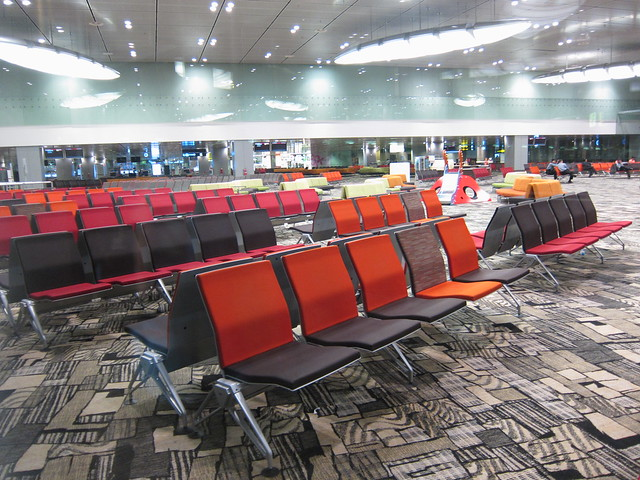 Changi waiting area