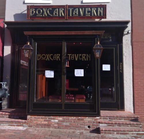 Boxcar Tavern Opens Friday