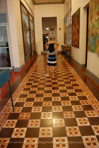 Negros Museum floor