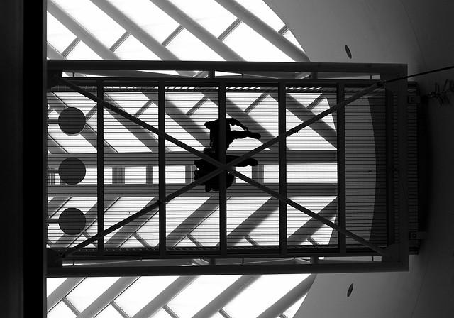 Overhead bridge, SFMOMA, San Francisco