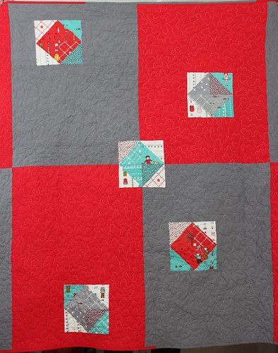 Little Apples Quilt - Back