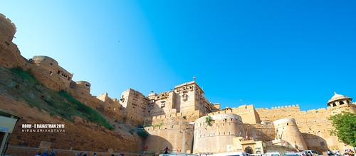The Jaisamer fort.