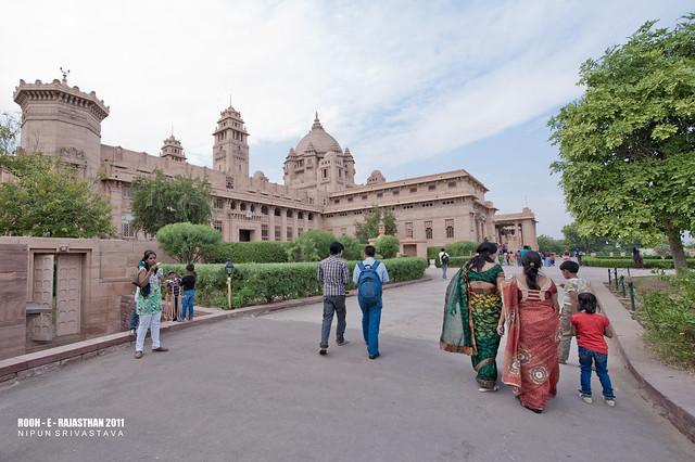 The Umaid Bhavan Palace.