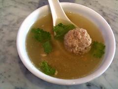 Bakwan kepiting soup, Daisy's Dream Kitchen, West Coast Road