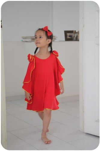 chinese new year outfit for aina :)