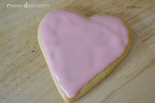 Sugar Cookie Valentines Tutorial Step 4