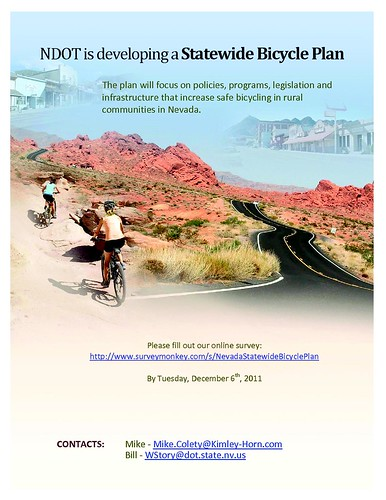 NDOT Bicycle Plan Survey