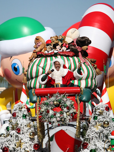Nick Cannon Returns to Disneyland for 2011 Disney Parks Christmas Day Parade Airing December 25 on ABC