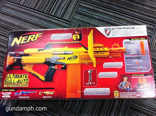 NERF Sale 50% Off Stampede Raider Recon Unboxing Review (10)