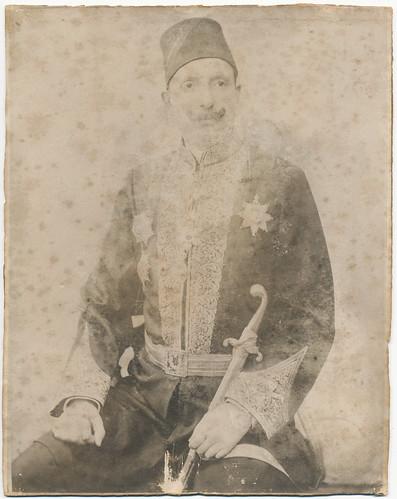 Photograph [93.29]: Portrait of Yosef Navon (Jerusalem, c. 1932)