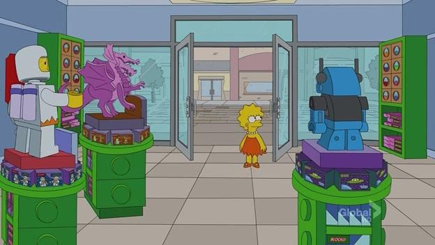 "Simpsons Lego Store aka ""Blocko store"""