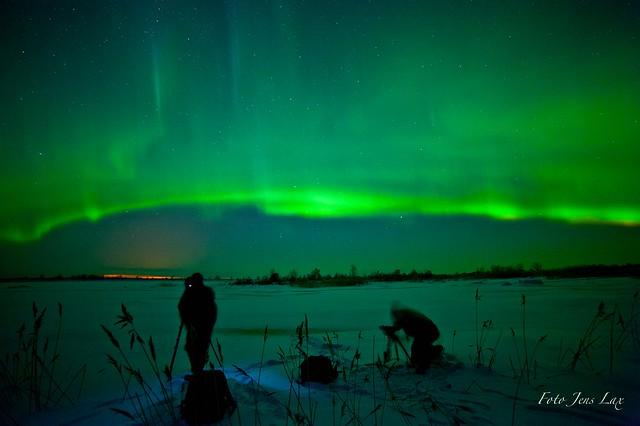 Aurora Borealis o 2 Knäppisar  / Jens