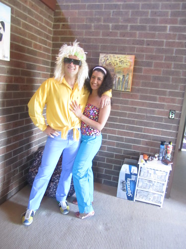 Wally & I (80s dress up)
