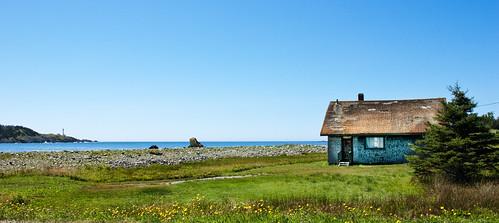 Nova Scotia Shack on the Ocean