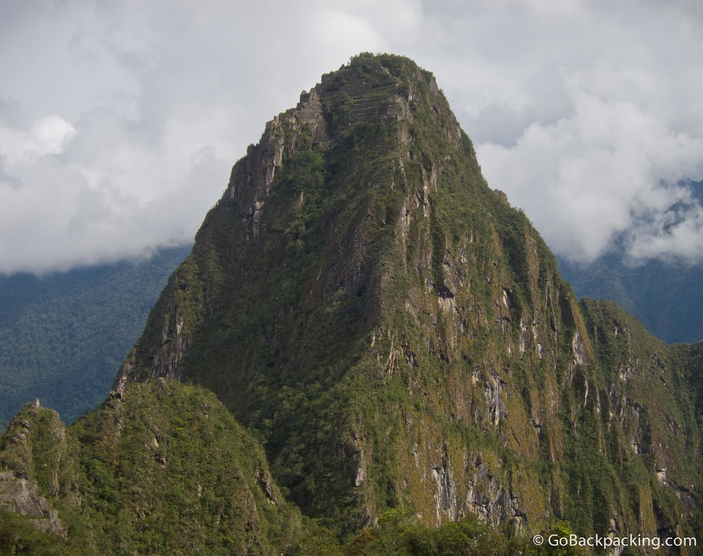 Meet Wayna Picchu. Only 400 visitors are allowed to climb it every day, so you need to arrange your $10 ticket at least 5 days in advance (from Cusco)