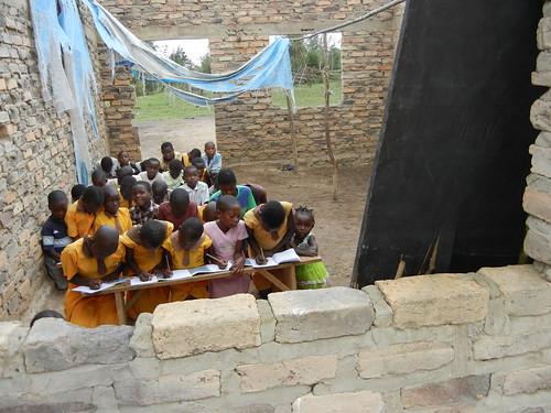 I bambini della scuola di Lwengo