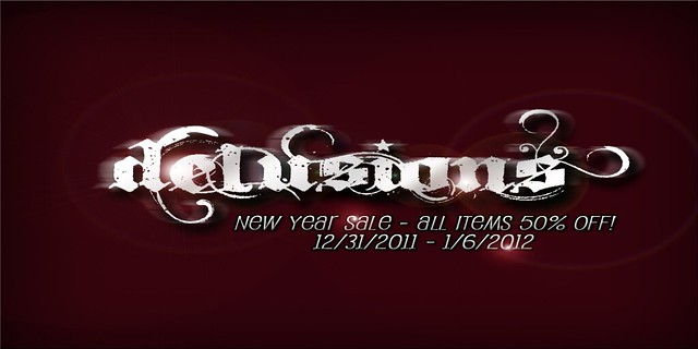 .:: Delusions ::. New Year Sale