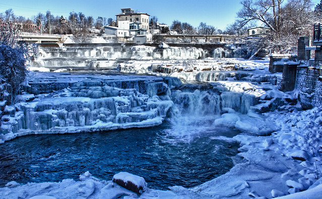 The Mississippi River at Almonte