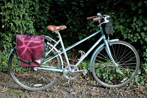 Angel's Ortlieb Spash Design - with bike