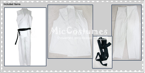 Street Fighter Ryu Adult Cosplay Costume_1