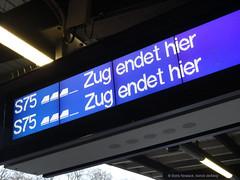 Zug endet hier
