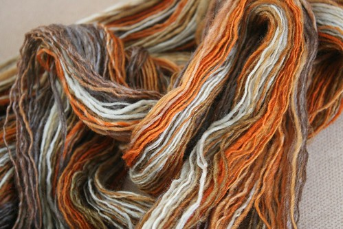 spun :: Hello Yarn Polwarth/Silk